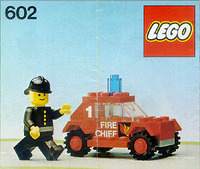 Lego Fire Car