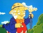 Cartoon character Doctor Snuggles