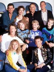 Neighbours cast circa 1980