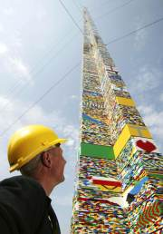 Biggest Lego Tower