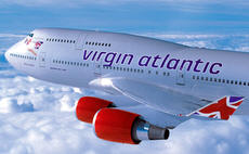 virgin atlantic airplane