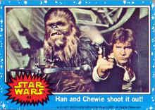 star wars bubblegum card