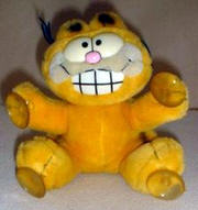 stick on garfield