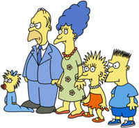 the simpsons in the eighties