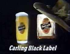 Carling Black Label Cowboy Ad