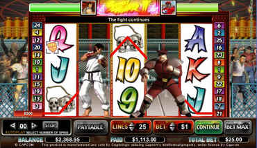 Street Fighter Slot Machine