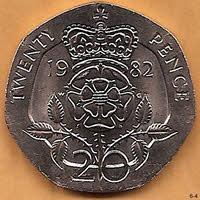 Twenty Pence Piece